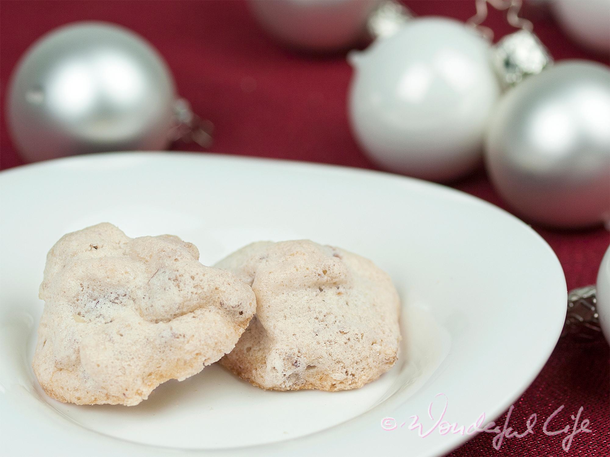 Süße Walnuss-Wölkchen zur Weihnachtszeit – Wonderful Life